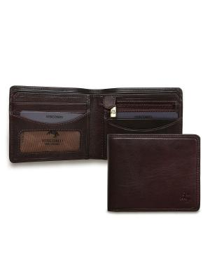 Бумажник Francesca Visconti. Цвет: коричневый