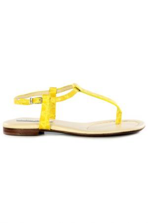 Сандалии Luciano Padovan. Цвет: yellow