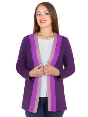 Жакет Faq market. Цвет: фиолетовый, сиреневый