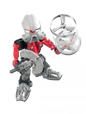 Конструктор RoboBlock Красный Воин XS Склад Уникальных Товаров. Цвет: красный