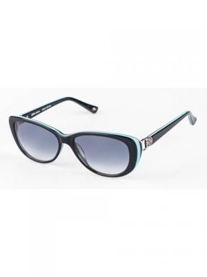 Очки солнцезащитные Soho collection. Цвет: черный, бирюзовый