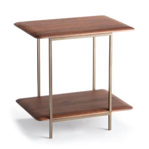 Столик прикроватный из массива орехового дерева, Jacobson AM.PM.. Цвет: ореховый