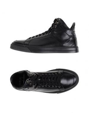 Высокие кеды и кроссовки W DABLIU. Цвет: черный