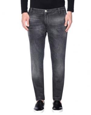 Джинсовые брюки NEW ENGLAND. Цвет: свинцово-серый