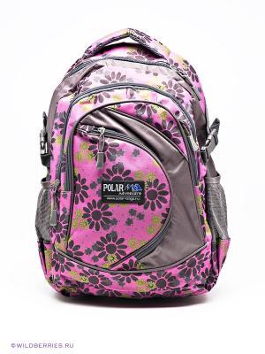 Рюкзак Polar. Цвет: фиолетовый (осн.)