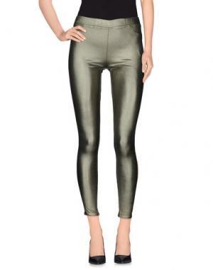Повседневные брюки ELLA LUNA. Цвет: зеленый
