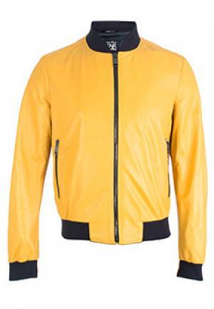 Куртка FONTANELLI. Цвет: желтый
