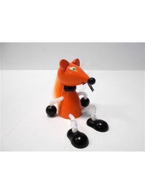 Игрушка подвеска на пружине - Лиса Taowa. Цвет: оранжевый