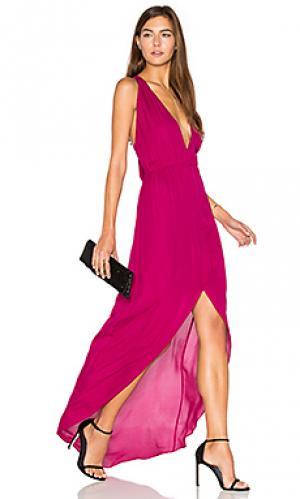 Вечернее платье hampton Rory Beca. Цвет: фуксия