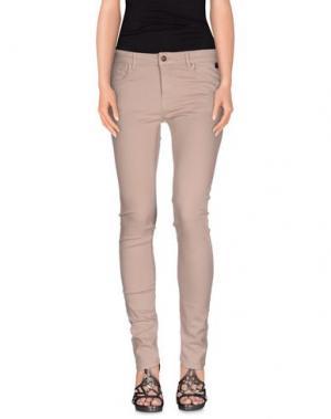 Джинсовые брюки FAIRLY. Цвет: светло-коричневый
