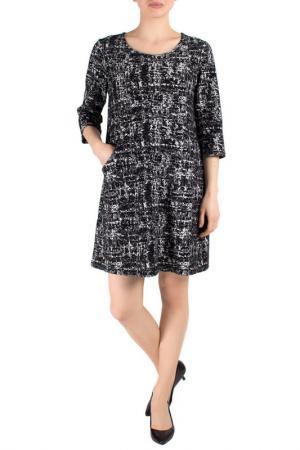 Платье FEVER LONDON. Цвет: черный