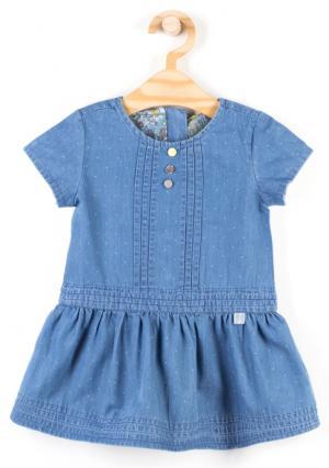 Платье Coccodrillo. Цвет: синий (темно-синий морской)