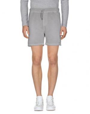Повседневные шорты BOWERY. Цвет: серый