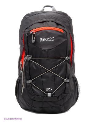 Рюкзак REGATTA. Цвет: черный, оранжевый, серый