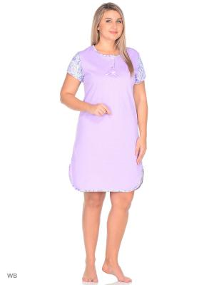 Сорочка El Fa Mei. Цвет: фиолетовый