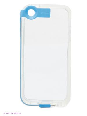 Чехол для iPhone 5/5s WB. Цвет: голубой, прозрачный