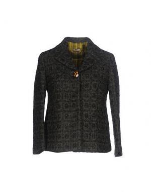 Пиджак MALÌPARMI. Цвет: темно-зеленый