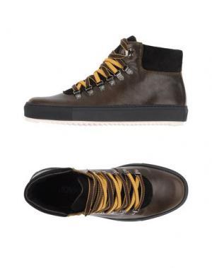 Высокие кеды и кроссовки JOYKS. Цвет: зеленый-милитари