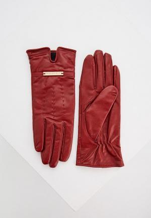 Перчатки Trussardi Jeans. Цвет: бордовый