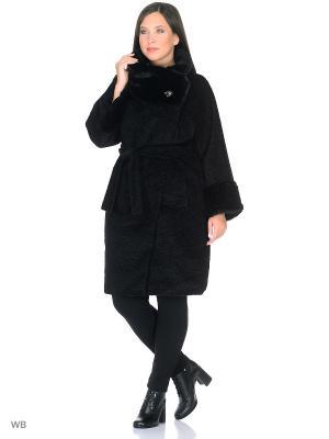 Пальто Socrat. Цвет: черный