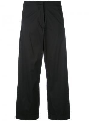Укороченные расклешенные брюки Federica Tosi. Цвет: чёрный