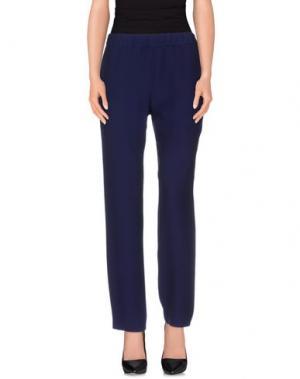 Повседневные брюки N_8. Цвет: фиолетовый
