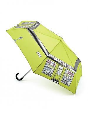 Зонт механический Кондитерская  by Fulton Lulu Guinness. Цвет: зеленый