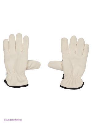 Перчатки флис утепленные  Puffin Down W Nova tour. Цвет: белый