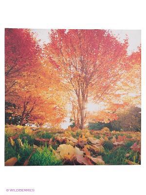 Картина на подрамнике 60х60х2,5 см VELD-CO. Цвет: оранжевый