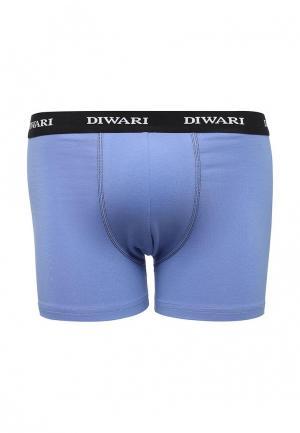Трусы DiWaRi. Цвет: голубой