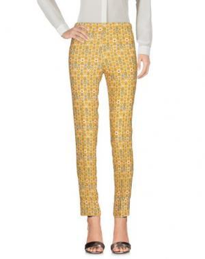 Повседневные брюки MÊME by GIAB'S. Цвет: охра