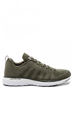 Techloom pro cashmere sneaker Athletic Propulsion Labs: APL. Цвет: военный стиль