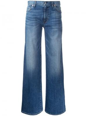 Расклешенные джинсы Nili Lotan. Цвет: синий