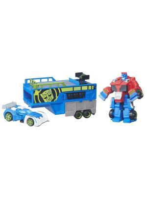 Игровой набор Playskool Heroes Гоночный комплект Hasbro. Цвет: синий