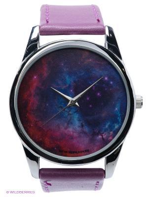 Часы Космос Mitya Veselkov. Цвет: фиолетовый