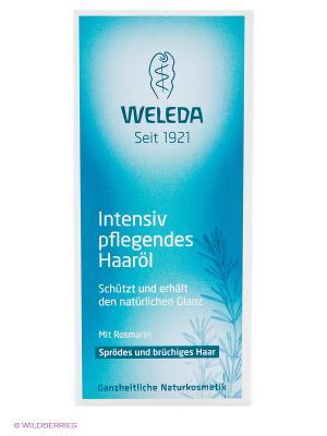 Масло для волос, 50 мл Weleda. Цвет: бирюзовый