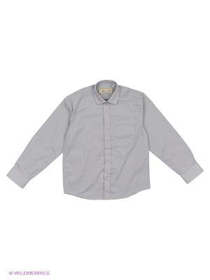 Рубашка Tsarevich. Цвет: темно-серый