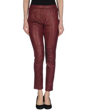 Повседневные брюки DEBY DEBO. Цвет: пурпурный