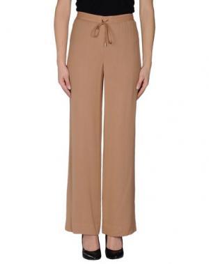 Повседневные брюки THE ROW. Цвет: верблюжий