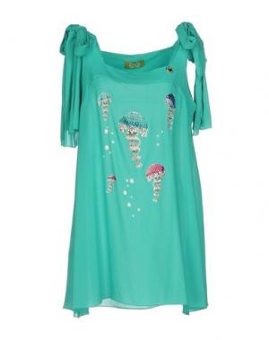 Короткое платье EAN 13. Цвет: светло-зеленый