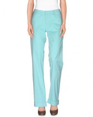 Повседневные брюки POLO JEANS COMPANY. Цвет: бирюзовый