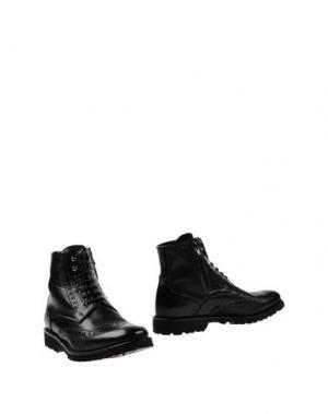 Полусапоги и высокие ботинки SETTANTATRE LR. Цвет: черный