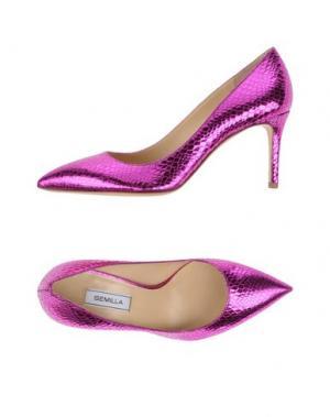 Туфли SEMILLA. Цвет: фуксия