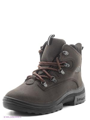 Ботинки KUOMA. Цвет: коричневый
