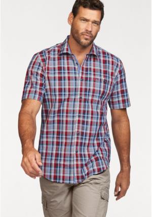 Рубашка MANS WORLD MAN'S. Цвет: синий/белый/красный в клетку