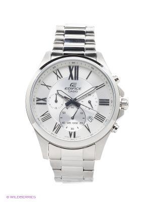 Часы Edifice EFV-500D-7A CASIO. Цвет: белый