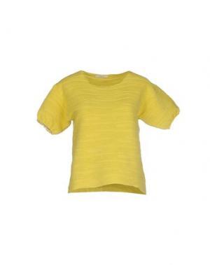 Свитер MANOSTORTI. Цвет: желтый