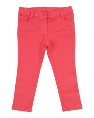 Джинсовые брюки KI6? PRETTY. Цвет: фуксия