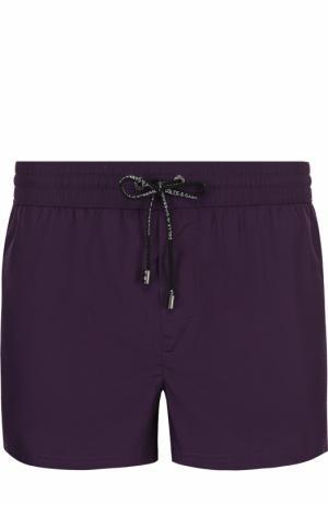 Плавки-шорты с карманами Dolce & Gabbana. Цвет: фиолетовый