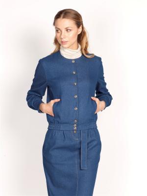Куртка ЛитанияMIR. Цвет: голубой